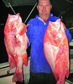 Mackay anglers can catch nannygai all through winter.